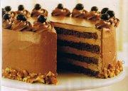 Gâteau moka étagé