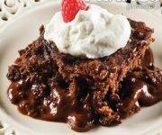 Gâteau-pouding au chocolat fondant