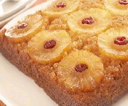 Gâteau renversé à l'ananas 4