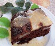 Gâteau renversé aux poires 2