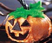 Gâteaux-citrouilles d'Halloween