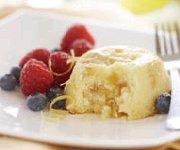 Gâteaux pouding au citron et au gingembre