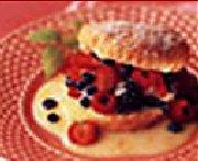 Gâteaux sablés aux petits fruits