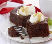 Gâterie au brownie au chocolat