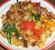 Gnocchi au pesto de tomates séchées