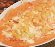 Gnocchi, sauce à la crème de tomate