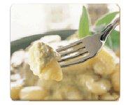 Gnocchis à la crème de basilic