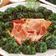 Gratin de jambon et brocoli