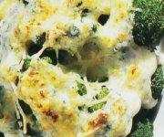 Gratin de brocoli au romano