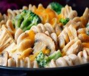 Gratin de rotinis au thon et légumes