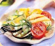 Grillade mixte de légumes au romarin
