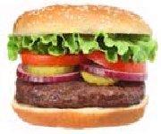 Hamburger au goût de salsa
