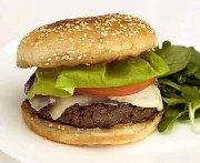 Hamburger végétarien au Délice des Appalaches
