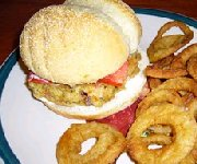 Hamburgers à la goberge