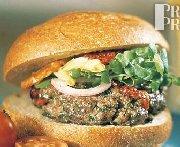 Hamburgers d'agneau et tomates séchées