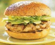 Hamburgers aux pommes et au cheddar