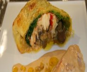 Homard et foie gras en koulibiac