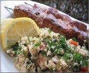 Kebabs au porc