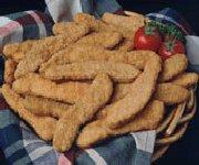 Lamelles de poulet croquantes