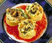 Lasagnes roulées aux légumes