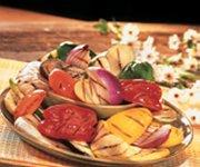 Légumes grillés au barbecue 1