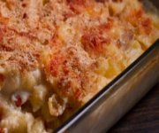 Macaroni à la mozzarella et au chorizo