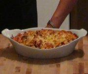 Macaroni à la viande gratinée 2