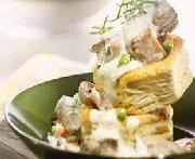Mijoté de dindon aux champignons