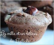 Mini muffins aux brisures de chocolat et aux noisettes