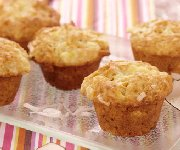 Mini muffins pina colada