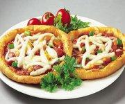 Mini-pizza roulées