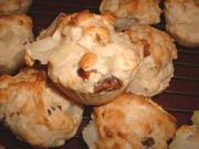 Muffins aux poires et aux dattes