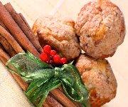 Muffins à la cannelle des Fêtes