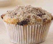 Muffins à la crème sure et aux dattes