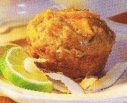 Muffins à la mangue et noix de coco