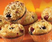 Muffins à la noix de coco croquante