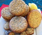 Muffins au citron et aux graines de pavot 3