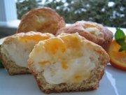 Muffins au fromage et à la marmelade