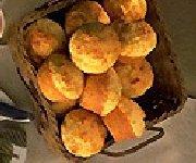 Muffins au Gouda et beurre de pommes