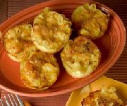 Muffins au macaroni et fromage