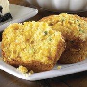 Muffins au maïs et au fromage