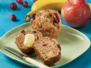Muffins aux trois fruits 2