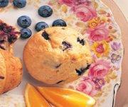 Muffins aux bleuets à la suisse