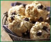 Muffins aux bleuets et amandes