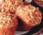 Muffins aux canneberges orange et noix 2