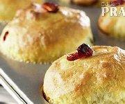 Muffins aux canneberges et bleuets
