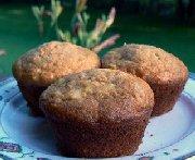 Muffins aux carottes et ananas
