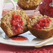 Muffins aux céréales et au miel