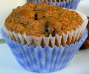 Muffins aux dattes et noix
