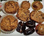Muffins aux dattes 2